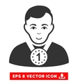Champion EPS Icon vector image