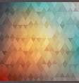 abstract geometric background colorful mosaic vector image vector image