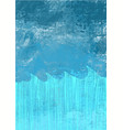 abstract ocean wave and blue sky background vector image