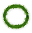 Christmas and new year pine colorful wreath
