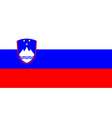 flag of Sloveniia vector image