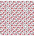 pattern-square-ten vector image vector image