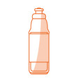 water bottle design vector image vector image