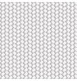 White Seamless Wicker Pattern vector image vector image