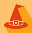 Witch Hat Icon vector image vector image