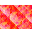Abstract geometric background with red and yellow vector image