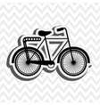 bicycle icon design vector image vector image