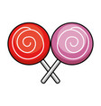 candies sweet isolated icon vector image vector image
