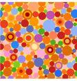 circles seamless 2 vector image vector image