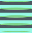 retro green shades horizontal stripes vector image vector image