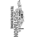 you can buy sustanon online text word cloud vector image vector image