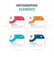 Abstract circle text box business infographics