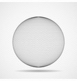 abstract sphere icon squares pixelated vector image