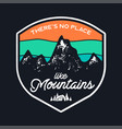 mountain explorer graphic for t-shirt prints vector image vector image