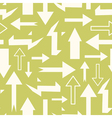 Seamless abstract pattern with arrows vector image