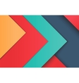 unusual modern material design vector image