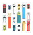 vehicles - set of modern city elements vector image vector image