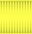 vertical yellow shades stripes print vector image vector image