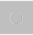 victory wreath computer symbol vector image vector image