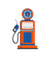vintage gas pump gun vector image