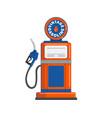 vintage gas pump gun vector image vector image