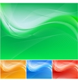 abstract background green vector image vector image
