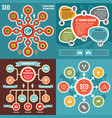 abstract infographic templates concept banners vector image vector image