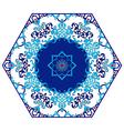 Antique ottoman turkish pattern design eighty four vector image vector image