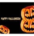 background with The Jack Olantern vector image