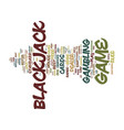 Free blackjack tips text background word cloud