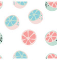fresh citrus background vector image vector image