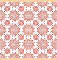 ornamental seamless pattern geometric vector image vector image