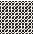 Seamless Wavy Diagonal Line Geometric vector image vector image