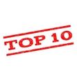 Top 10 Watermark Stamp vector image vector image