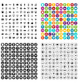 100 website icons set variant vector image vector image