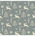 Christmas background seamless tiling pattern vector image vector image