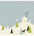 Christmas small house vector | Price: 1 Credit (USD $1)