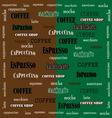 coffee Wallpaper 02 vector image vector image