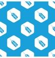 Discount hexagon pattern vector image vector image