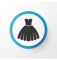 dress icon symbol premium quality isolated vector image