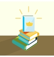 education book vector image vector image