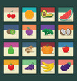 Fruit and Vegetables 1 vector image