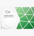 geometric background can be used in cover design vector image