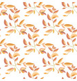 light floral seamless pattern vector image