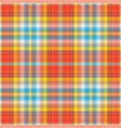 seamless abstract colorful checkered pattern vector image vector image