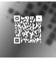 Simple icon QR code vector image vector image