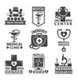 pharmacy chemistry or medicine labels set vector image