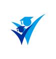 academic logo icon concept