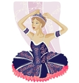 Ballerina black vector | Price: 3 Credits (USD $3)