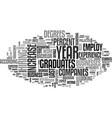 best jobs dlvy nicheblowercom text word cloud vector image vector image